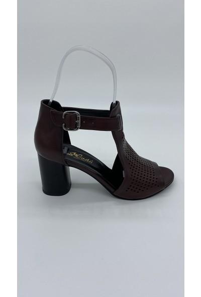 Cudo 016 Bordo Sandalet