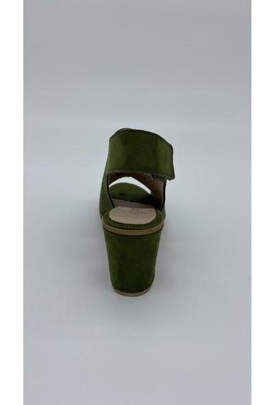 Cudo 013 Yesıl Cılt Sandalet