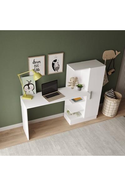 Robin Home Arthur Kitaplıklı Çalışma Masası