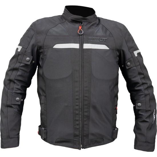 Motospartan Forte Gt Mont Inferno 2001072 Siyah 3 Katmanlı 4 Mevsim Mont 2x-Large