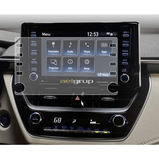 Aeltech Toyota Corolla 2020 2021 Model 8 Inç Navigasyon 9h Ekran Koruyucu