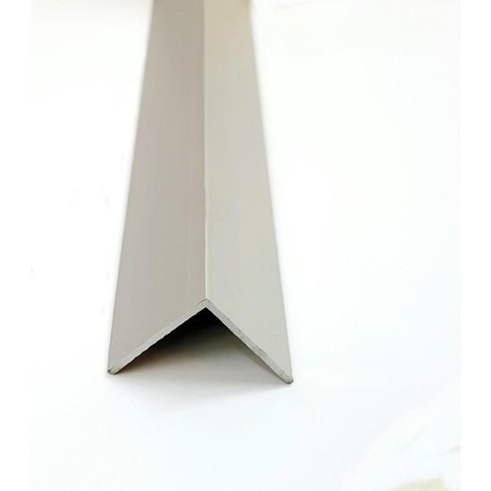 Şahin Alüminyum Köşe Profili Alüminyum Köşebent L Profil Gri 1 cm x 1 cm x 100 cm