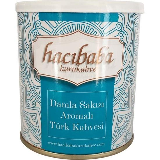 Hacıbaba Damla Sakızlı Türk Kahvesi Teneke Kutu 100 gr