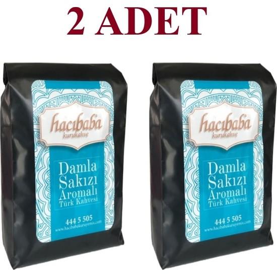 Hacıbaba Damla Sakızlı Türk Kahvesi 1 kg ( 2 x 500 gr )