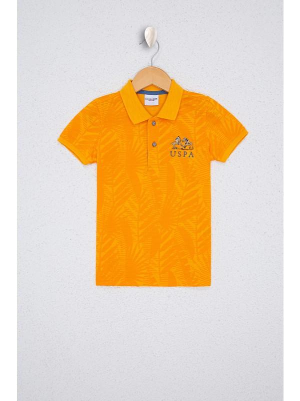 U.S. Polo Assn. Erkek Çocuk Sarı T-Shirt 50238415-VR044