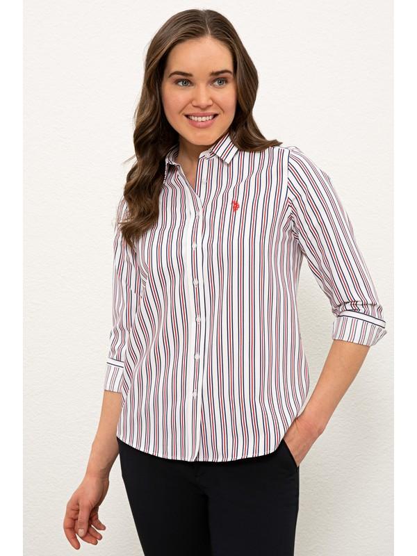 U.S. Polo Assn. Kırmızı Gömlek Uzunkol 50237941-VR030