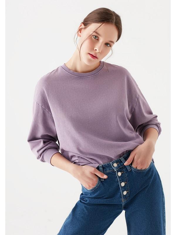 Mavi Kadın Mor Sweatshirt 1600363-32991