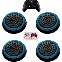 Feza Xbox Wireless Controller 2 Çift Tırtıklı Analog Başlığı Mavi