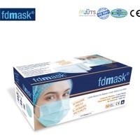 Fdmask Cerrahi Maske 3 Katlı Telli Ultrasonik 50 Adet