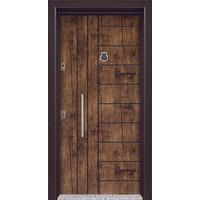 Mono Çelik Kapı MN-1836 Classic Antik Ceviz Çelik Kapı