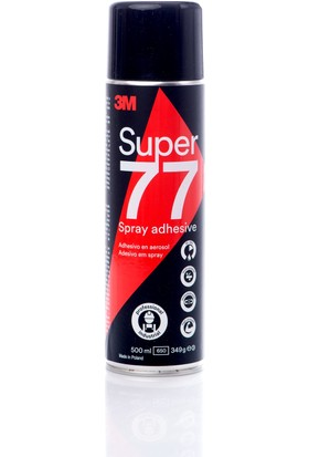 3m Sprey 77 Çok Amaçlı Sprey 500 ml Yapıştırıcı