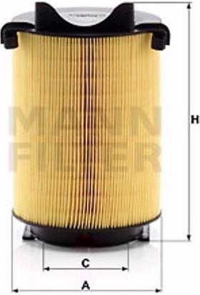 Mann Seat Altea Xl 1.2 Tsi 2006-2009 Mann-Filter Hava Filtresi