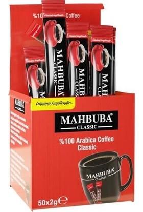 Mahbuba Klasik Kahve 2 gr x 50'li Kutu
