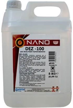 Fagor Nano Dez 100 Qac Bazlı Yüzey Hijyen Maddesi 5 kg