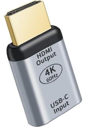 Ally Usb-C To HDMI 4K Dönüştürücü Adaptör 60Hz AL-33728