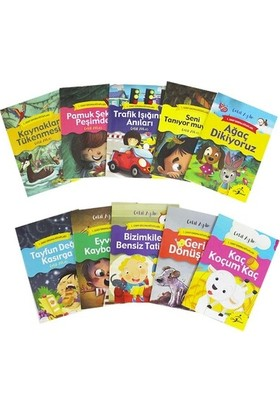 Çocuk Gezegeni 1. Sınıf Okuma Kitapları Seti - 10 Kitap
