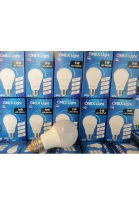 Yüceeller 9W LED Ampul Beyaz (10 Lu Paket) 9WLED
