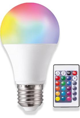 Noas 9W Rgb LED Ampul Kumandalı