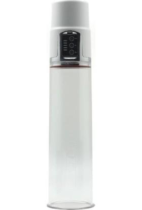 Luv Pomp Çift Başlığa Sahip USB Şarjlı Otomatik Penis Pompası+Krem