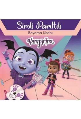 Disney Vampirina Simli Parıltılı Boyama Kitabı