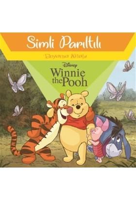 Disney Winnie The Pooh - Simli Parıltılı Boyama Kitabı