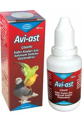 Biyo-Teknik Kuşlar Için Solunum Güçlendirici - Avi-Ast