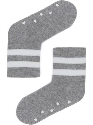 Katia&Bony Star Bebek Soket Çorap - Gri/beyaz