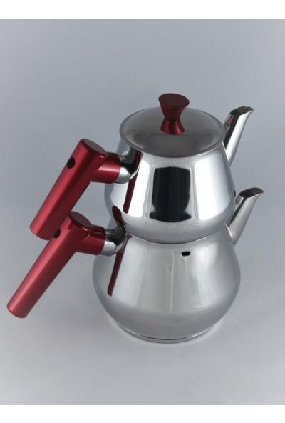 Papatyam Burcu Mini Çelik Çaydanlık Takımı