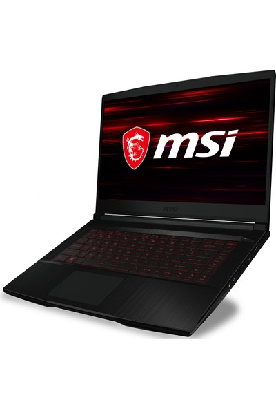 "MSI GF63 Thin 10SC-004TR Intel Core i7 10750H 16GB 512GB SSD GTX1650 Windows 10 15.6"" FHD Taşınabilir Bilgisayar"
