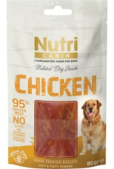 Nutri Canin Tahılsız Tavuklu Köpek Ödül Maması 80GR 10'lu Set Idili