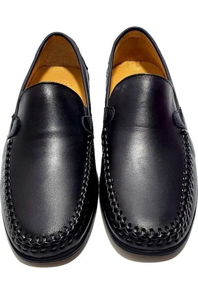 Faruk Karar Deri Erkek Ayakkabı - Siyah - 41