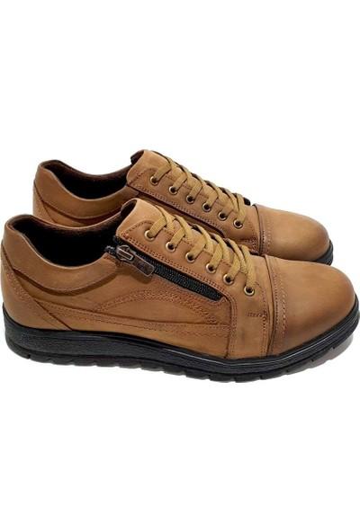 Slope Deri Erkek Ayakkabı - Vızon - 41