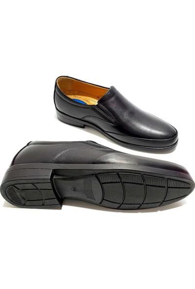 Slope Deri Erkek Ayakkabı - Siyah - 42