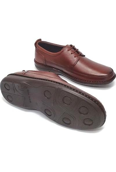 Alme Erkek Deri Ayakkabı - Taba - 40
