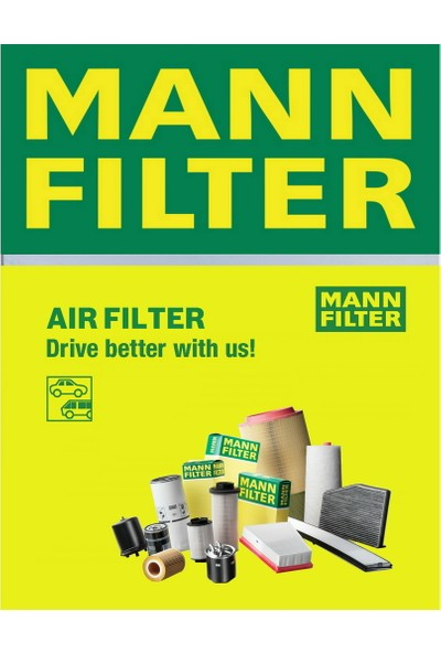 Mann Citroen C4 I Sedan 1.6 Hdi 2006-2011 Mann-Filter Hava Filtresi