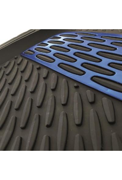 Safir Volkswagen Jetta2018 Model 3D Havuzlu Paspas Mavi