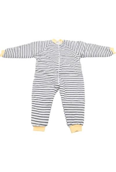 Özlem Bebe 7-12 Yaş Arası Sarı Gri Uyku Tulumu