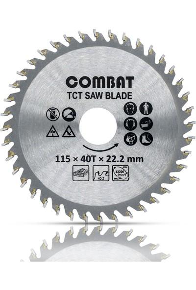 Badem10 Combat Taşlama Spiral Ahşap Kesme Sunta Testeresi 115 mm 40 Diş