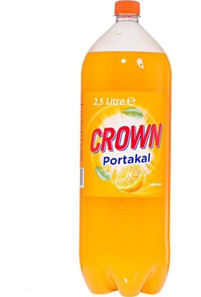 Crown Portakallı Gazoz 2.5 Lt