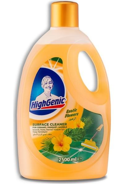 Highgenic Genel Yüzey Temızleyici - Egzotik Çiçekler 2500 ml