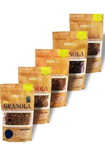 Mom's Natural Foods Mom's Granola 5'li Mix (5 Paket x 360GR)
