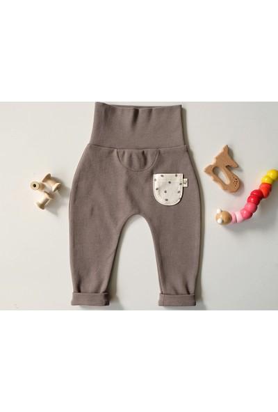 Teensy Beli Kalın Ribanalı Erkek Bebek Pantolon