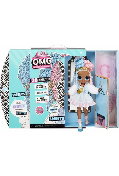 Lol Surprise Omg Sweets Fashion Bebek Giydirme Seti - 20 Sürpriz