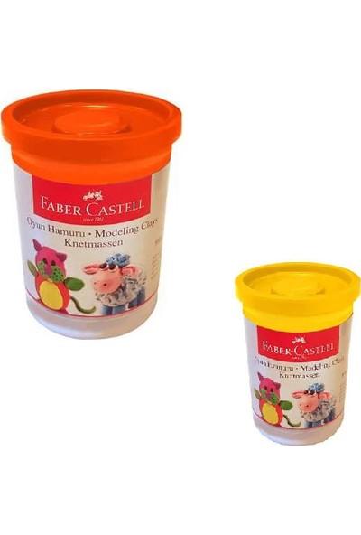 Faber Castell Oyun Hamuru Sarı Renk+Turuncu Renk