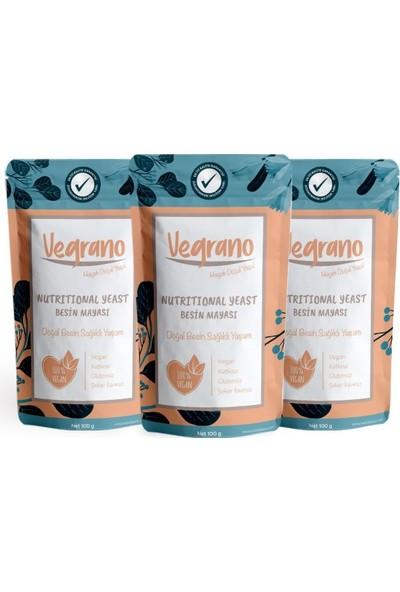 Vegrano Nutritional Yeast (Besin Mayası) 3 x 100 gr