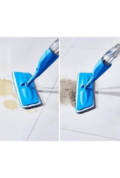 Fırsat Geldi Sprey Mop Deterjan Hazneli Temizlik Seti 4 Microfiber Bezli