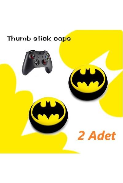 Xbox One 2 Adet Batman Kabartma Desenli Analog Başlığı