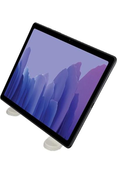 Pembe Karınca Yükseklik Ayarlı Telefon Tablet Standı Beyaz