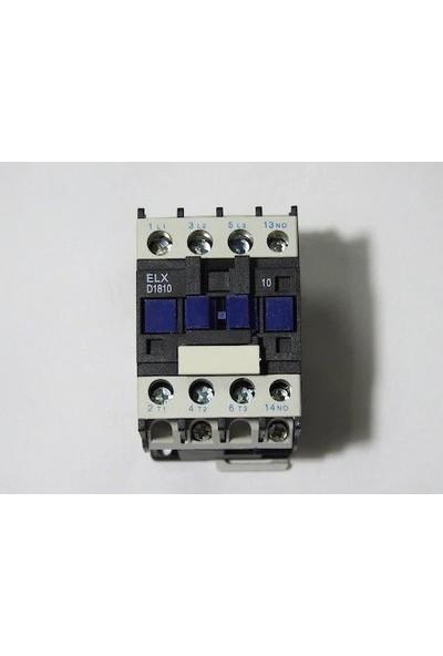 18AMPER 220V Bobinli 7.5kw No Kontaktör El-Max D1210