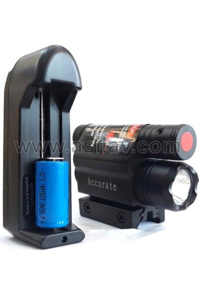 Asil Lazer Kırmızı M44